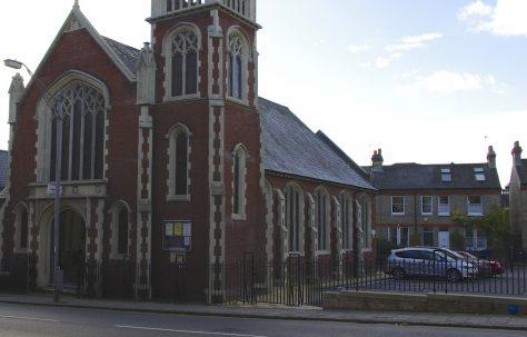 Cambridge; Castle Street Primitive Methodist Church