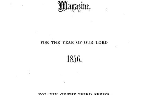 1856 chapel openings and more