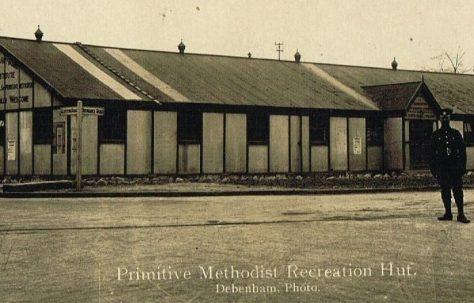 Primitive Methodist Recreation Hut, Soldiers' Institute, Sussex