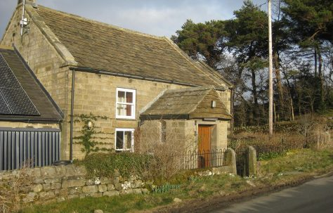 Pateley Bridge -  Moorhouse Hill Primitive Methodist Chapel near Padside West Yorkshire
