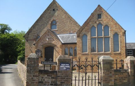 Pant Primitive Methodist Chapel Shropshire