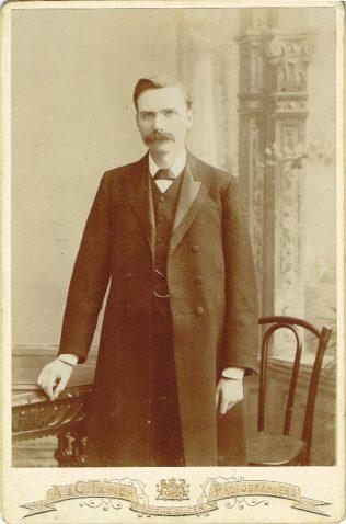 Professor A S Peake, c1904 | Englesea Brook Museum 10.04