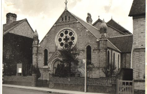 Syston's New Primitive Methodist Chapel, Leicestershire
