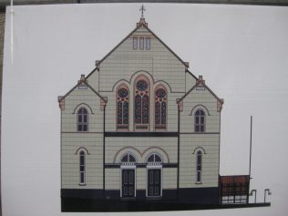 Artist's impression of proposed new building