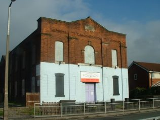 Droylsden Primitive Methodist Church, Market Street, Lancashire | https://tamesidefamilyhistory.co.uk/droylsdenchurches.htm