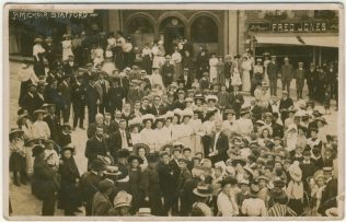 Primitive Methodist Choir, Stafford | Englesea Brook Museum picture and postcard collection