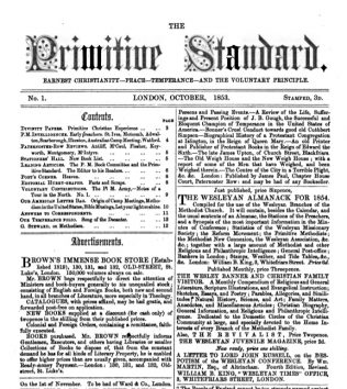 The Primitive Standard (1853-54)