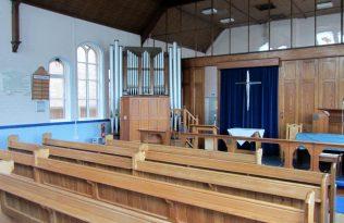 Prince Memorial Methodist Church interior