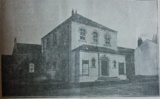 Prince's Field Primitive Methodist chapel as altered in the 1880s | Handbook of the Primitive Methodist Conference 1898; Englesea Brook Museum