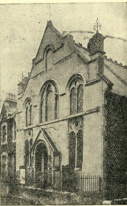 Prospect Place chapel, Swindon | Brinkworth and Swindon Centenary Handbook 1910