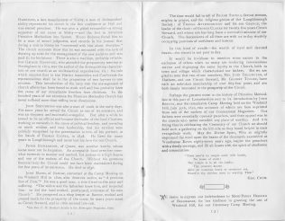 History of Primitive Methodism in Loughborough and its district p2-3 | Centenary Camp Meeting Souvenir Handbook