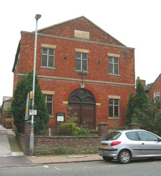 Nantwich Welsh Row Primitive Methodist Chapel