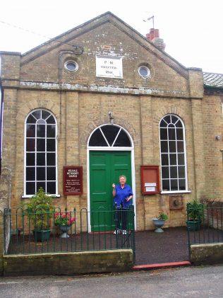 Outside Primitive Methodist Chapel Kelsale, Suffolk, 2008 | Anne Gentleman
