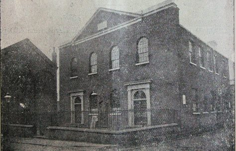 Leeds Quarry Hill Ebenezer Primitive Methodist chapel