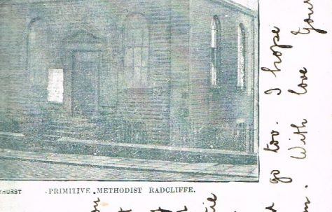 Radcliffe Primitive Methodist Chapel, Railway Street