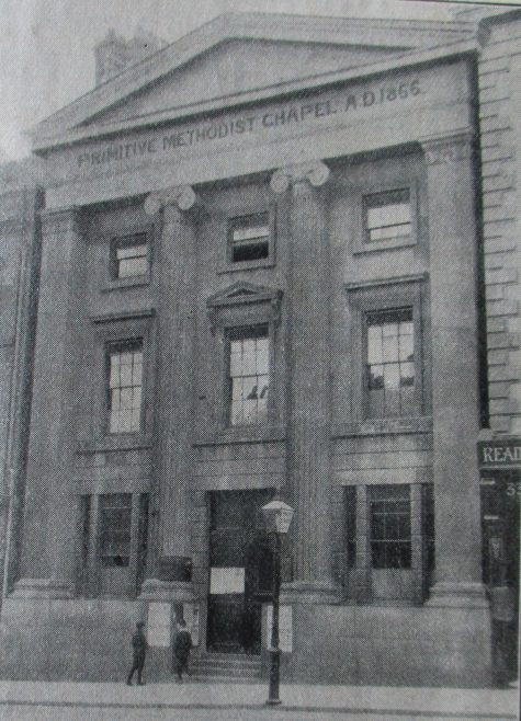 Reading, London Street Primitive Methodist chapel | Handbook of the Primitive Methodist Conference 1915; Englesea Brook Museum