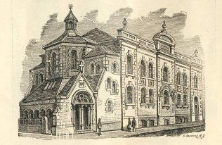 Regent Street chapel, Swindon | Swindon Centenary Synod Handbook 1925