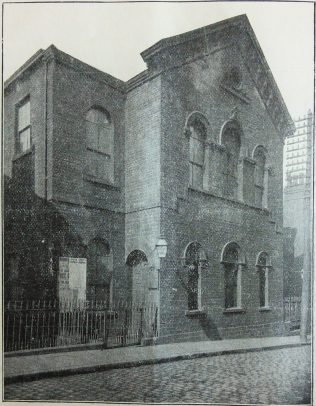 Rehoboth Primitive Methodist chapel Leeds | Handbook of the Primitive Methodist Conference 1898; Englesea Brook Museum