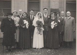 Gladys Haynes' wedding in the 1950s | Victor Davies