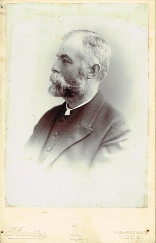 Rev R Hind, York, c1904 | Englesea Brook Museum 10.04