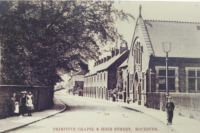 Rocester Primitive Methodist chapel | Englesea Brook picture and postcard collection