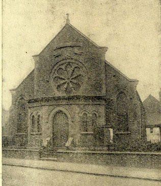 Rodbourne Road chapel   Swindon Centenary Synod Handbook 1925