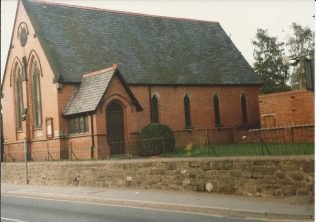 Ruabon Primitive Methodist chapel, North Wales