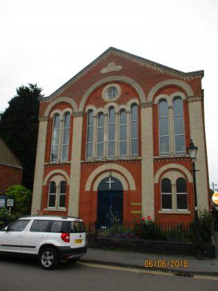 Second Ruddington Primitive Methodist chapel,  front view | Christopher Hill 2018