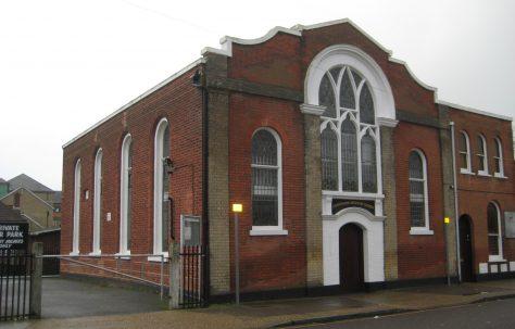 Ipswich; Rope Walk Primitive Methodist Chapel