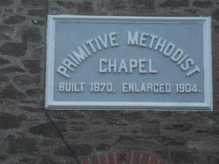 New Mills Primitive Methodist Church, London Apprentice