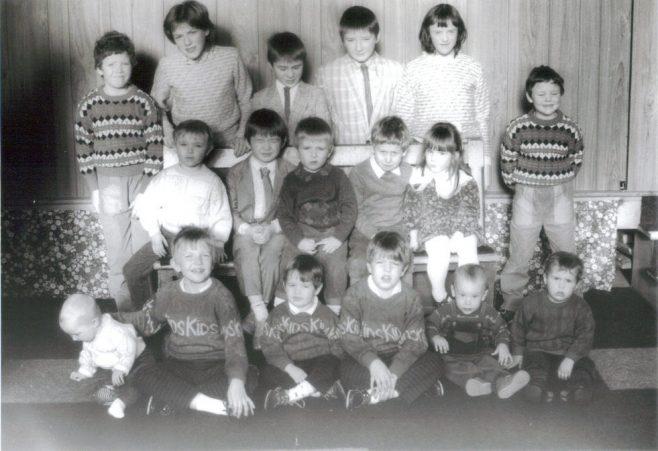 Sunday School in 1988