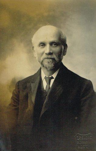 Rev S S Hemshaw, Nottingham, 1904 | Englesea Brook Museum 10.04