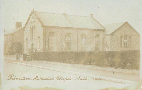 Sale Moor Primitive Methodist Chapel