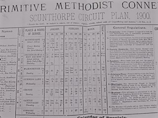 Santon Cottages Primitive Methodist Society