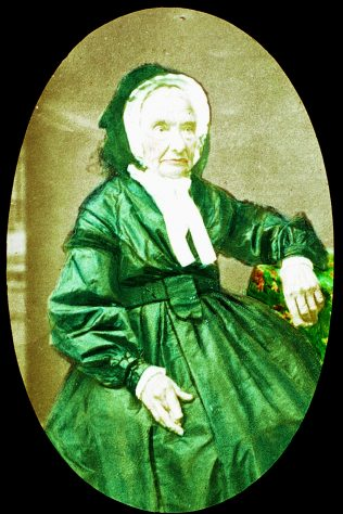 Sarah Bembridge, nee Kirkland (1794-1880), who became the first woman to be a Primitive Methodist minister in 1816 | Englesea Brook Museum