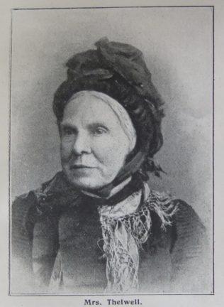 Sarah Thelwell, nee Nixon   Primitive Methodist Magazine 1902