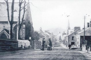 Brampton with PM Chapel on left, c1902