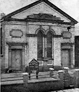 Alsager (Crewe Road) Primitive Methodist Chapel Cheshire