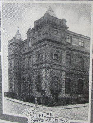 Scarborough Jubilee Primitive Methodist chapel | Handbook of the Primitive Methodist Conference 1925; Englesea Brook Museum