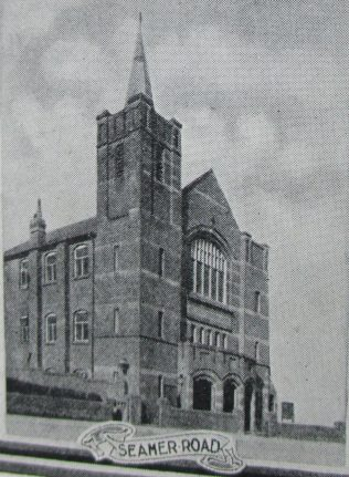 Scarborough Seamer Road Primitive Methodist Chapel | Handbook of the Primitive Methodist Conference 1925; Englesea Brook Museum