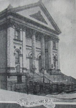 Scarborough St Sepulchre Primitive Methodist chapel | Handbook of the Primitive Methodist Conference 1925; Englesea Brook Museum