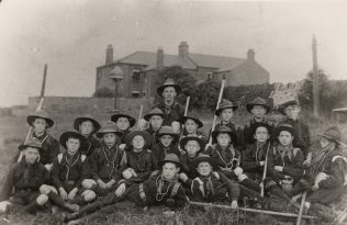 Scout Group who met at Heworth Lane PM Chapel c1905 | Bede Circuit Archive Collections