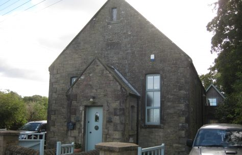 Scremerston; The Primitive Methodist Brown Memorial Chapel, Northumberland