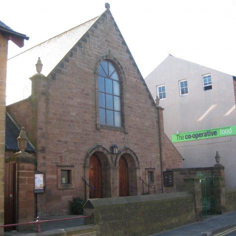 Seahouses Main Street Primitive Methodist chapel | Elaine and Richard Pearce September 2013