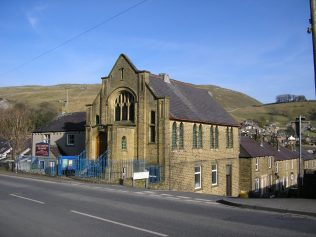 Settle, Skipton Road, PM Chapel  in its setting, 24.02.2018 | G.W. Oxley