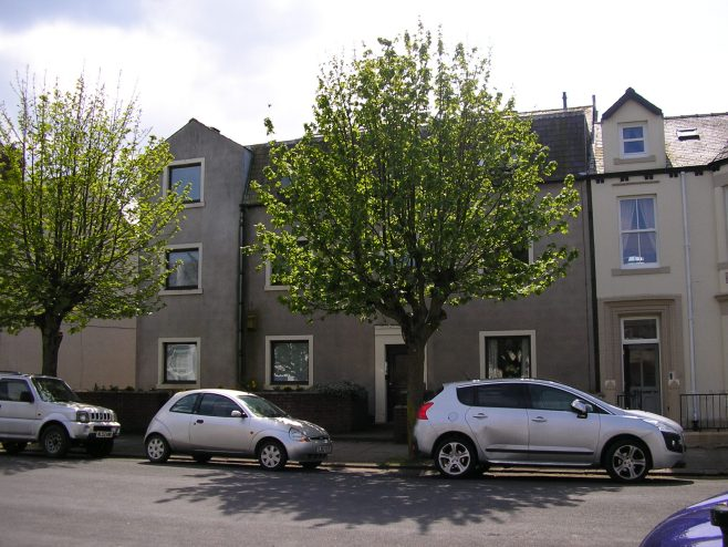 Silloth, flats on the site of the PM chapel, 9.5.2015 | G W Oxley