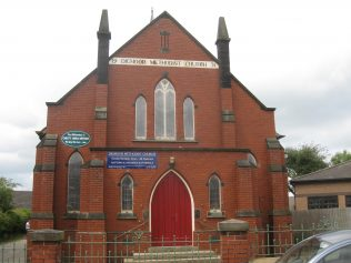 Skelmersdale (Digmoor, Daniels Lane) Primitive Methodist Chapel Lancashire