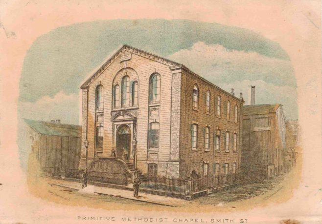 Rochdale; Smith Street Primitive Methodist Chapel | from the collection of Rev Steven Wild
