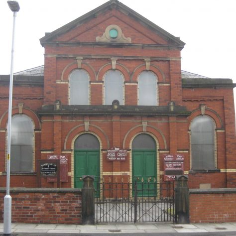 Southport Russell Road Primitive Methodist Chapel Lancashire