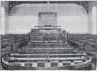 Interior of chapel, 1903